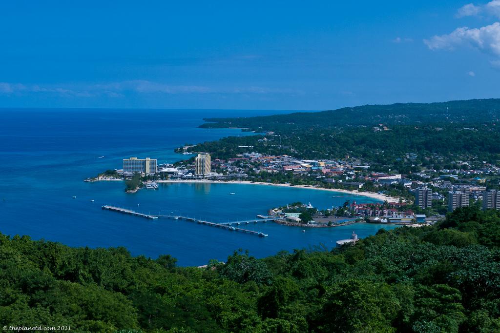 Jamaica coast line and bond movie film location