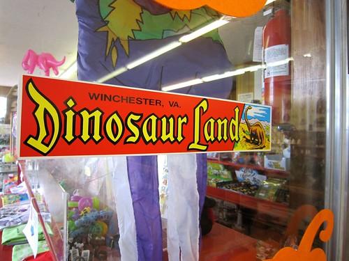 Dinosaur Land Bumper Sticker