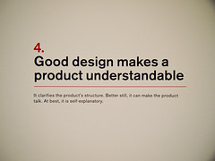 Ten Principles for Good Design: 4