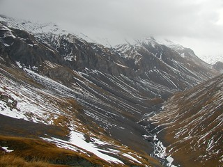 Truncated Spurs in an Alpine Glacial Environment