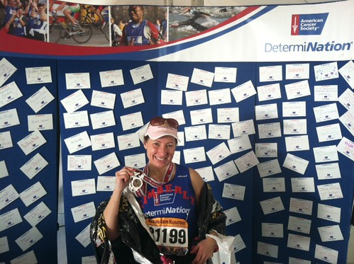 After the Marine Corps Marathon