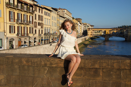 A girl in Florence by feradz