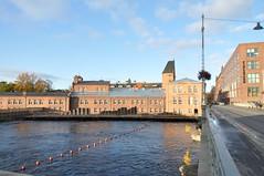 Bridge over the Tammerkoski channel.