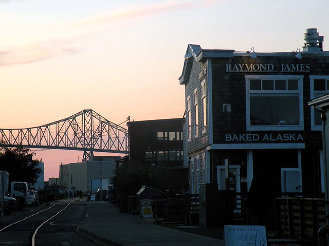Astoria Bridge and Baked Alaska Restaurant