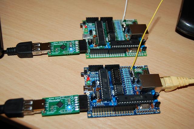 BK1 - Two Nanode RF's
