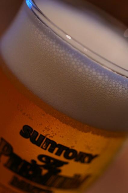 あ,ビールもプレミアムだった…Beer