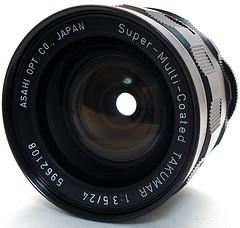 ペンタックス SMC タクマー 24mm F3.5