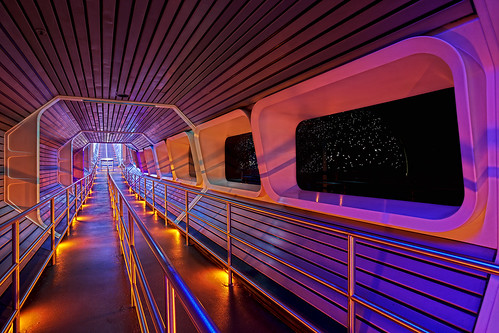 WDW - Starport Seven-Five - Space Mountain Queue