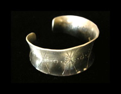 Spirit Lodges Anticlastic Cuff Bracelet