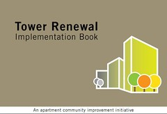 Cover, Tower Renewal Implementation Book, City of Toronto