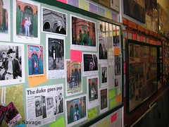 The Smiths Room at Salford lads club, Manchester