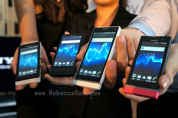 sony xperia NXT launch
