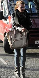 Coleen Rooney Shearling Boots