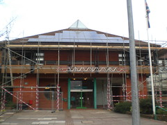 Council Offices PV_main entrance