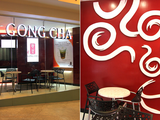 Gong Cha facade and interiors