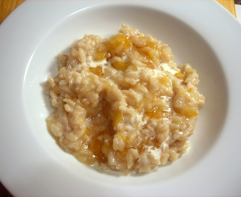 Sweet Coconut Risotto, with Meyer Lemon Marmalade and Light Rum | The ...