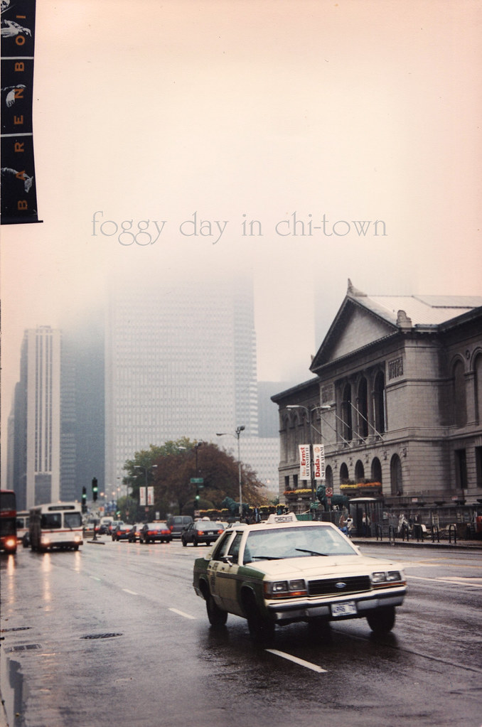 foggy day in chi-town