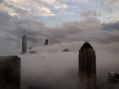 fog and bright sky - Chicago by doug.siefken