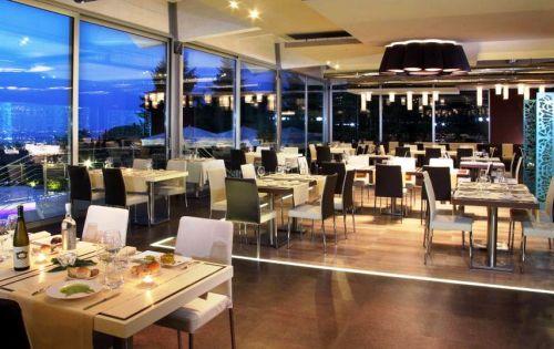 là, cucina con vista, ristorante panoramico a Frascati (Roma)