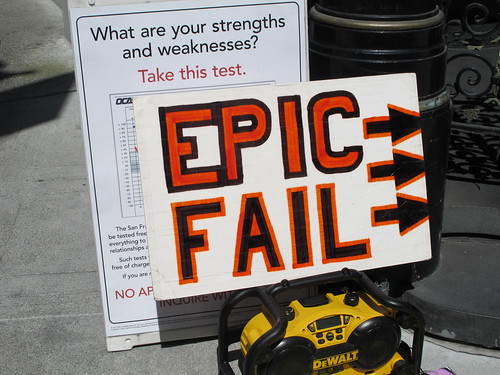 Epic Fail - Scenes from St. Stupid's Day Parade 2012