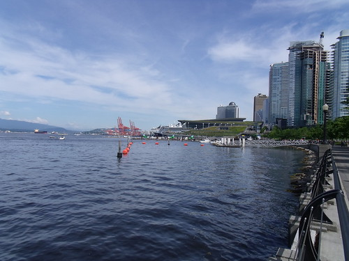 Coal Harbour on a sunny day