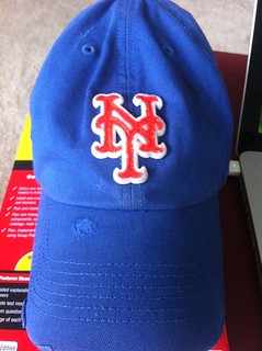 Considering this has been my hat over the last 3 days, I'm convinced it's why the Mets are hot: