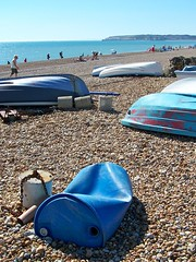 Beach and boats