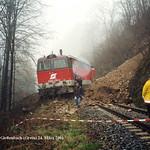 14. Zugunglück bei Gießenbach 24.03.2001