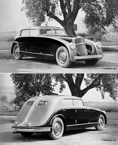 1932 Maybach Spohn Stromlinienkarosserie