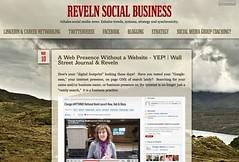 Reveln Social Business - precursor to the Social Media Learning Lab