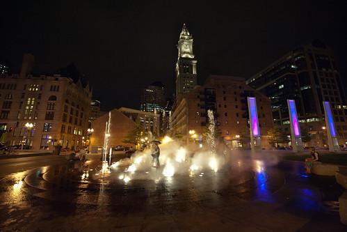 Romance In Rings Fountain