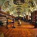 Sala Teológica del Monasterio Strahov I. Praga (Fisheye Vision) by Abariltur (Very busy)