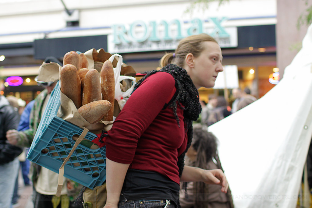 occupy seattle - bread bearer