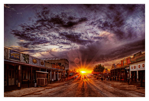 Tombstone Sunset