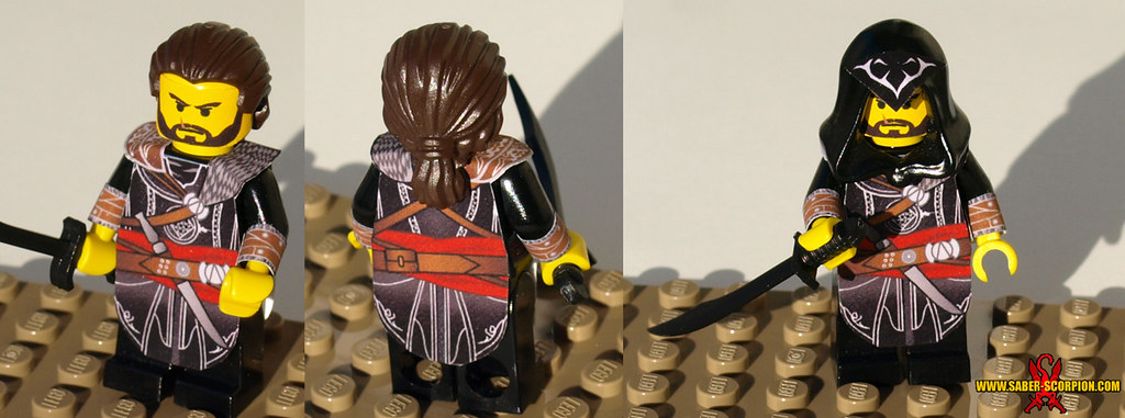 Assassin's Creed Revelations Ezio Minifig