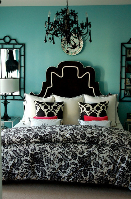 black white and blue bedroom flickr photo sharing