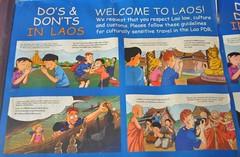 Com comportar-se a Laos (vist a diverses oficines de turisme)