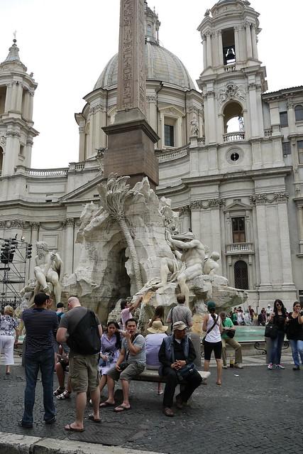 Fontana dei Quattro Fiumi 四河噴泉