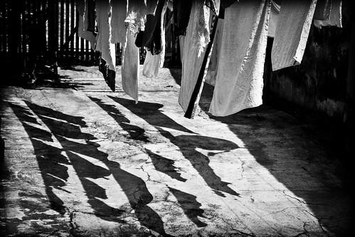 Lavar roupa todo dia que agonia....