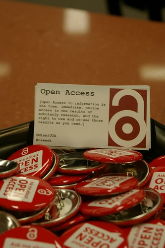 Open Access Definition Cards and Buttons
