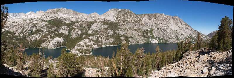 South Lake panorama