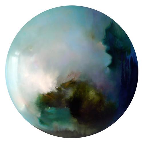 "Yvette Molina ""Atlantis (blue)"""