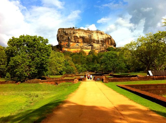 Sigiriya Rock by CC user boretom on Flickr