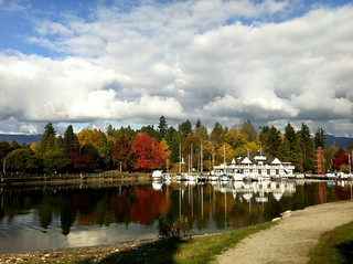 PHOTO - Today in Vancouver: Clouds and Color at the Rowing Club