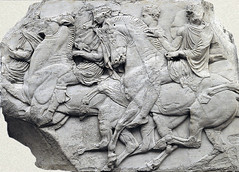 The Parthenon Frieze, Block N XLVI, photgrapher unknown