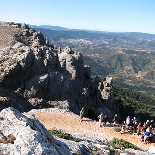 hiking Mt. Corrasi
