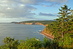 Landscape along Cabot Trail