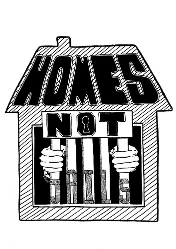 HOME NOT JAILS