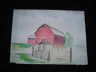Barn. Jail art.