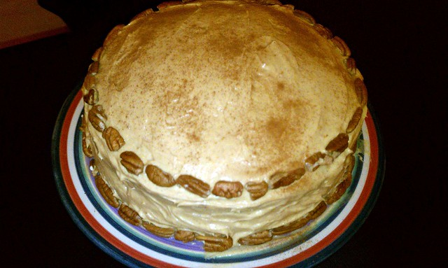 Pumpkin Cake with Pumpkin Cream Cheese Frosting | Flickr - Photo ...